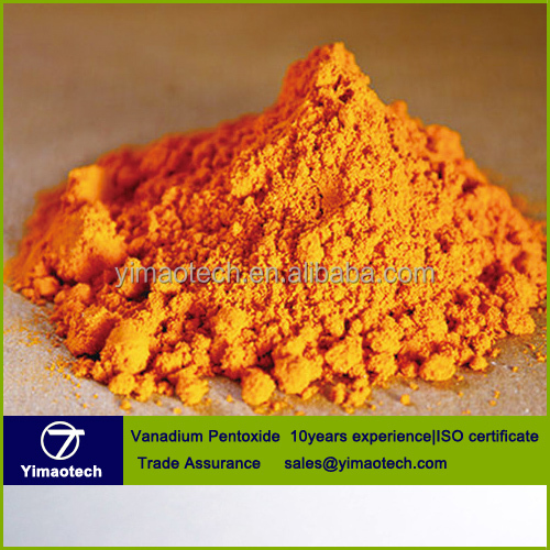 Factory supply 99% min Vanadium Pentoxide V2O5 with competitive price