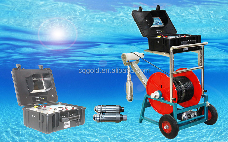 Portable Seim- Automatic Underwater Camera Water Well Inspection Camera and Borehole Camera
