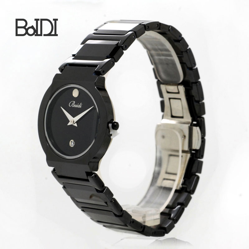 Custom your own cheap wrist branded men alloy watches make with High-strength Glass