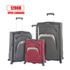 New luggage 3pcs set nylon1200D lugage bag travel trolley luggage