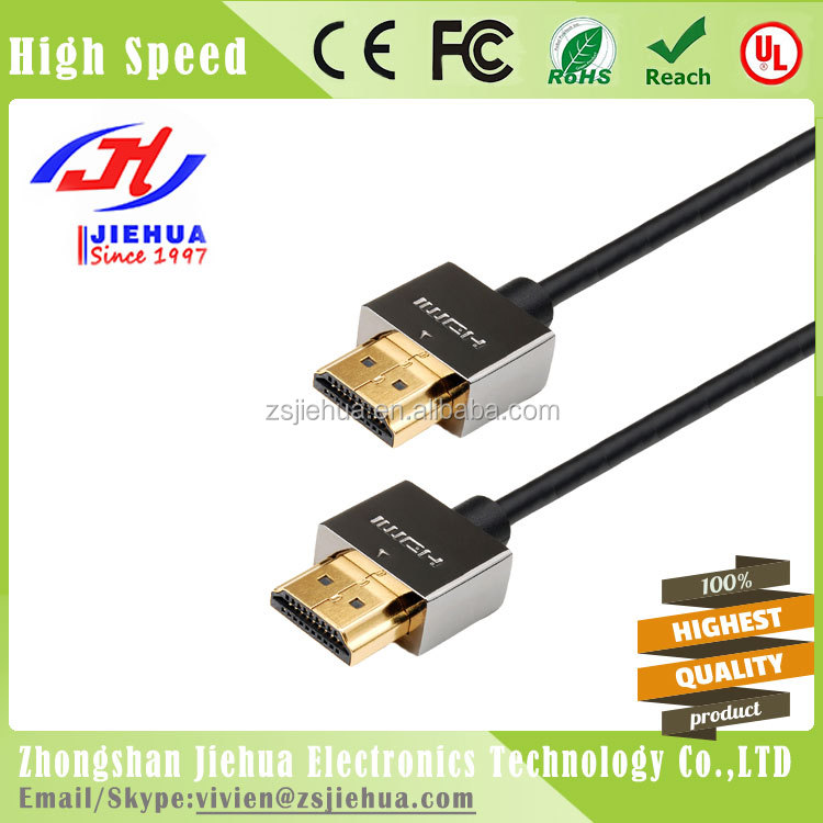 For Xbox PS3 HDTV 1080P 4K2K Ultra Slim HDMI cable