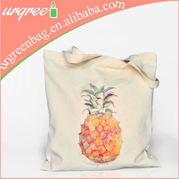 Wholesale 10oz Cotton Canvas Tote Bag With Customized Printing