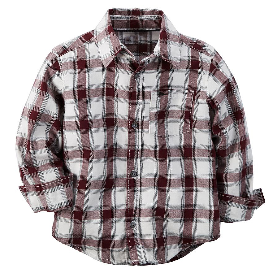 OEM classic high quality one pocket long sleeve cotton casual kids/children new pattern check shirt