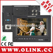 3G SDI LCD monitor with Tally lights and Advanced Software Functions(Olink FM779)