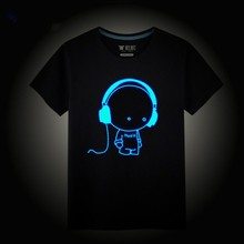 Sound sctivated custom led mini t shirt