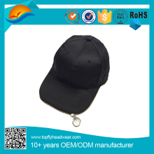 Innovative Zip Style Curved Brim Baseball Hat And Cap