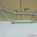 Titanium Tandem MTB Bike Frame Ti mountain bicycle frame tandem bicycle frame 650B