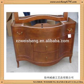 Solid wooden bathroom cabinet buy bathroom vanity for Pace industries inc bathroom vanities