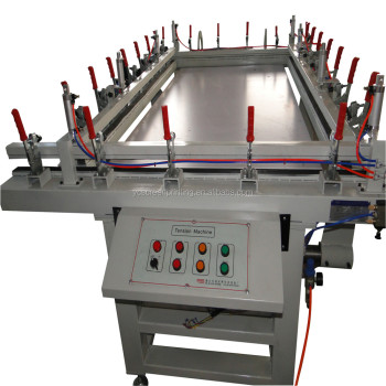 Pneumatic Automatic Restretching Machine for Screen Printing