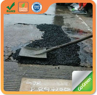 Rainy season use Go Green superior cold mix asphalt for road pothole repair