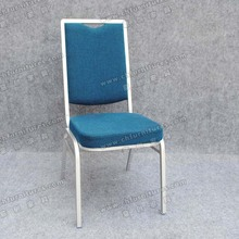 Stacking blue italian style dining room chair for sale YC-ZG16-04