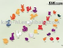 Animal pattern good quality cute fancy plastic children button