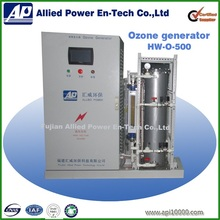 Ozone water purifier for mineral water sterilization