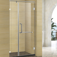 china manufacture folding glass bath shower screen