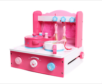 Wooden Folding Kitchen Set toy for kids