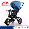 best selling blue 3 wheel tricycle with canopy/OEM&ODM wholesale baby stroller tricycle