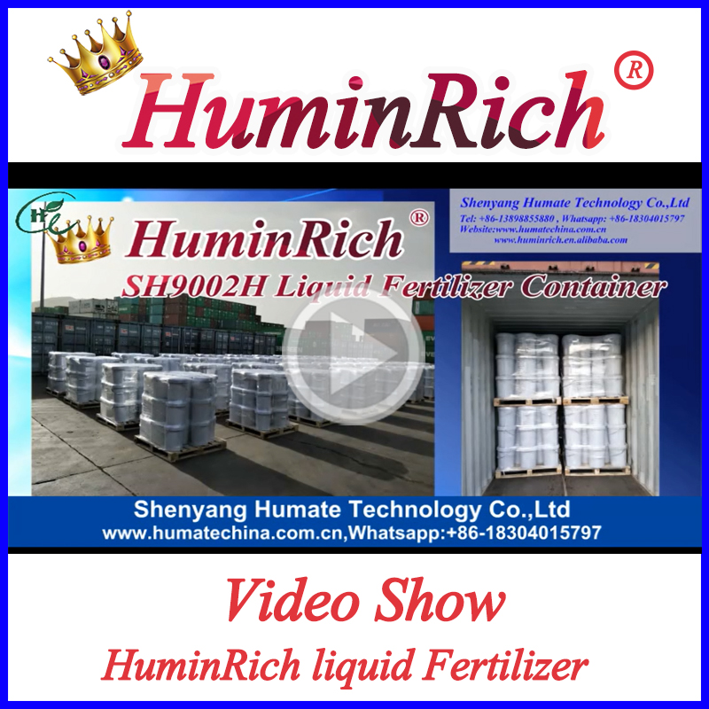 """HuminRich"" Shenyang Agricultural Liquid Humic Acid Organic Liquid Fertilizer Price"
