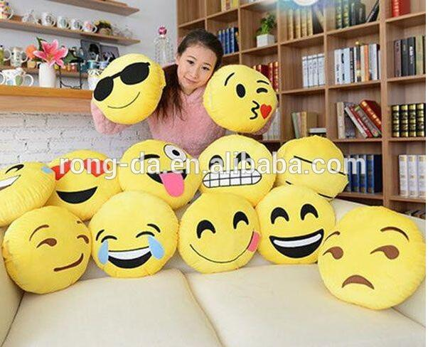 China Suppliers Plush Emoji Pillow