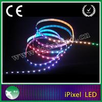 60leds/m ws2812b programmable rgb led light strip for decoration