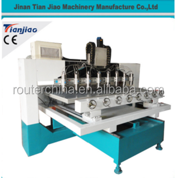 CNC Router multi spindle 8 head wood cutting/engraving cnc machine