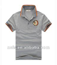 High quality embroidery polo shirts for men