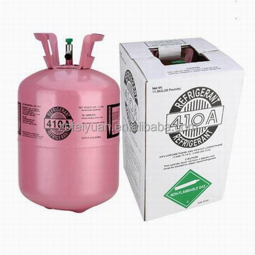 Mixed refrigerant Gas R407c R134A R404 R410A R600 Supplier