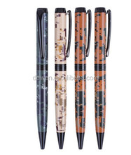 2015 HOT--DEWEN hot transfer metal camouflage pen in ballpoint pen for Army's gift signature pen