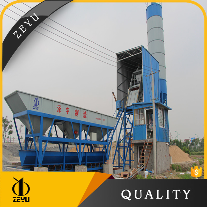 HZS25 to HZS180 concrete plant manufacture for concrete batching plant with capacity 25m3 to 180m3