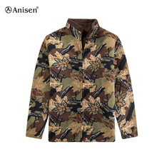 wholesale made in china camouflage clothing fashion xxxxl winter polar fleece bomber jacket men