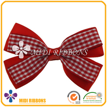 Popular ribbon boutique hair bow, fancy hair pins for hair accessories