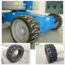 hot wheels rubber tyres used for 4x4 skid steer machine tyre 14x17.5 rubber tire with holes