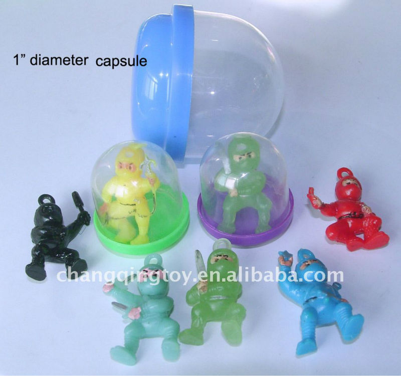 Ninja Figures into Capsule /Promotion gifts/Vending Machine Toys