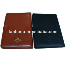 2014 novel design plain european leather diary book cover manufacturer