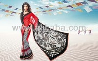 Bollywood Style Georgette Fashion Sarees from latest movies collection