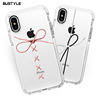 The Latest Custom Design TPU Clear Soft Silicone Cell Phone Case for iphone X