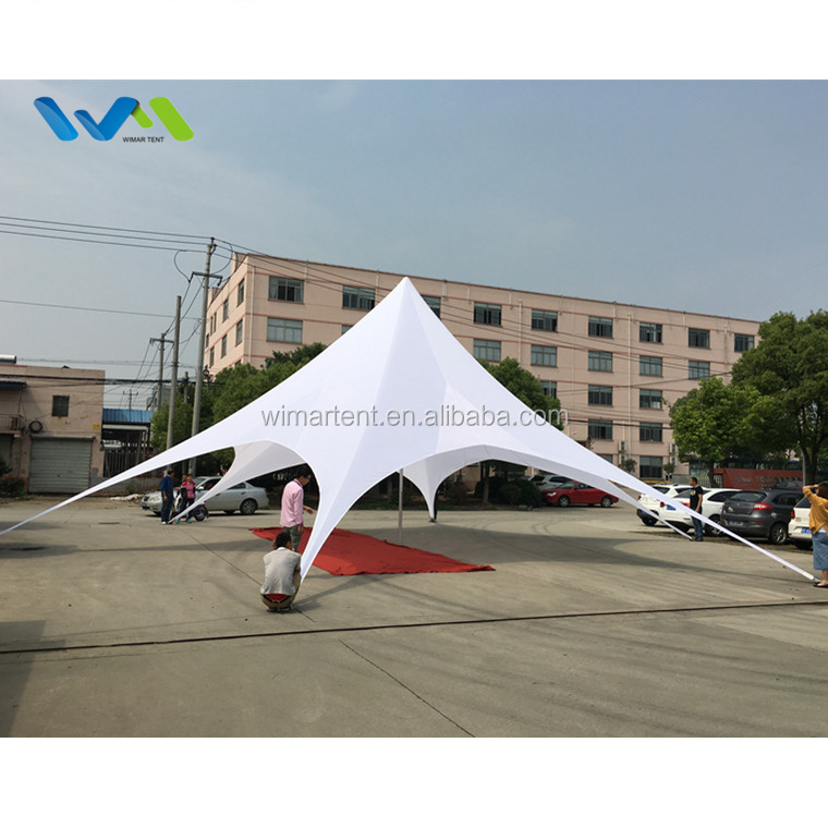 17m Hot Sale Star Beach Sun Shade Canopy <strong>Tents</strong> For Events