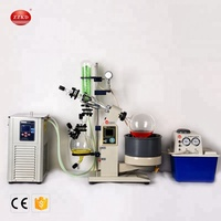 2019 Newest Type 5L Syrup Falling Film Vacuum Rotary Evaporator
