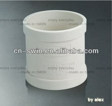 professional Manufacturer high quality white PVC-U pipe coupling