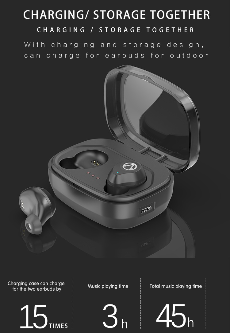 Waterproof noise reduction headphones, headphones wireless noise-canceling active noise cancelling bluetooth headphone