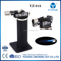 New! Stylish Refillable Jet Flame Butane Torch Lighter YZ-018