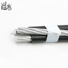 3 core ABC Cable Al Conductor PVC / XLPE / PE Insulated duplex triplex quadruplex service drop Overhead Aerial Bundled Cable
