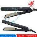 professional electrical brown hair straightener with lcd display and good quality
