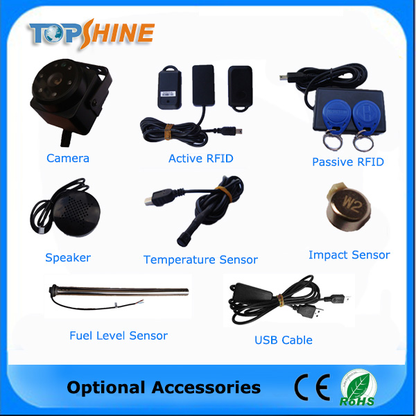 Popular Camera RFID Fuel Sensor Car GPS Tracker