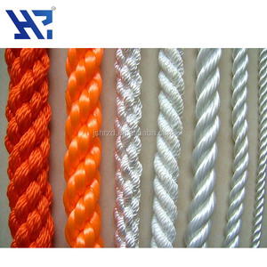 5mm-40mm double nylon braided rope / twisted rope