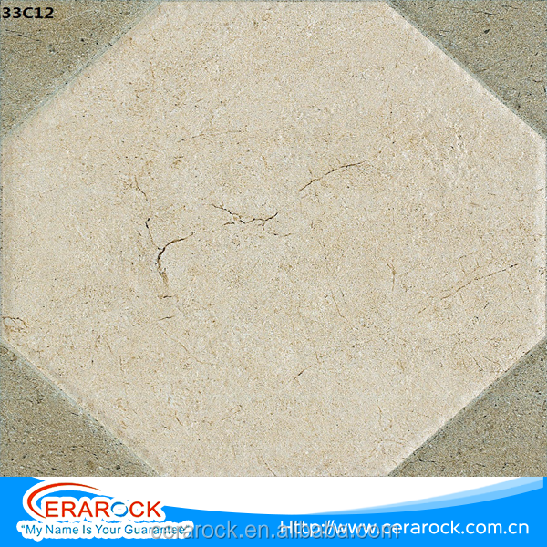 Low water absorption promote 300x300 ceramic outside floor tile for bathroom decoration