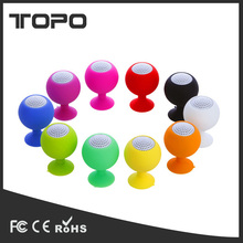 Silicone sucker cup holder music Wired phone holder cup laptop mobile phone holder portable mini speaker for tablet pc