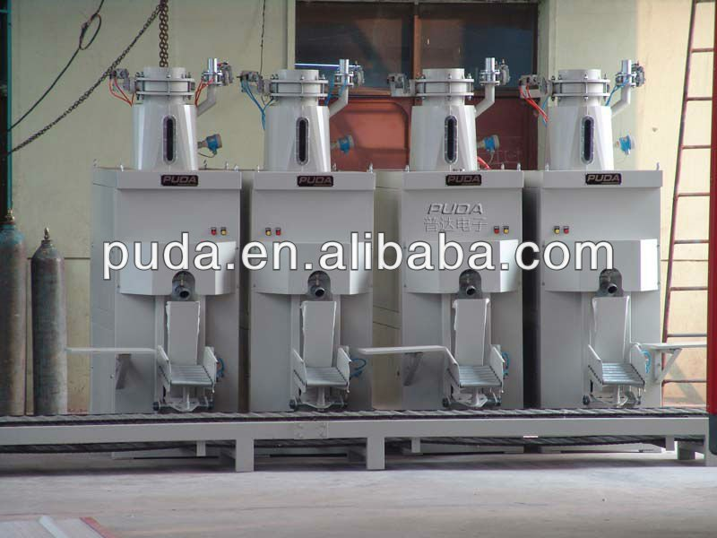 Calcined Flint Clay automatic air blow valve bag packer