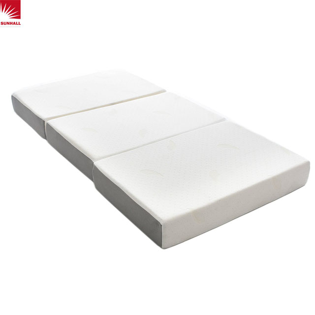 Tri-folding mattress full size with 3d mesh - Jozy Mattress | Jozy.net