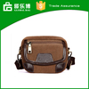 The Fashion Brown PU Canvas Bag for Men