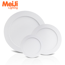 Good price 3w 6w 9w 12w 18w 24w rectangle skyline ultra slim round led <strong>flat</strong> ceiling panel light